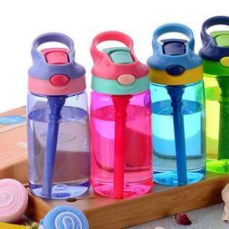 Portable Kids Boys Girls Children Outdoor Hot Juice Straw Wa