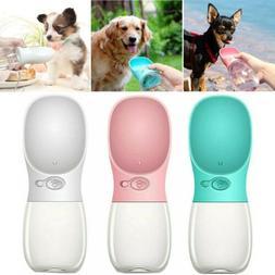 portable pet water bottle dispenser for dog