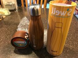 S'WELL WOOD 9OZ WATER BOTTLE NEW