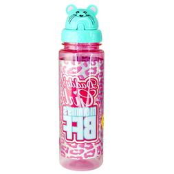 Sippin' Buddies 24 oz. Water Bottles with Flip Top Straw - D