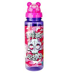 Sippin' Buddies 24 oz. Water Bottles with Flip Top Straw - S