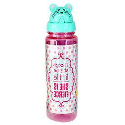 Sippin' Buddies 24 oz. Water Bottles with Flip Top Straw - L