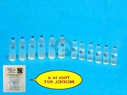 Special Ops 1/16 Disposable PET Clear Water Bottles Small &