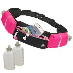 Sport Running Belt Waist Pack Pouch Water Bottle Holder Bag