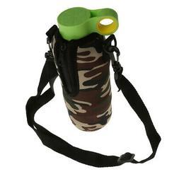 Sport Water Bottle Cover Neoprene Insulator Sleeve Bag Case