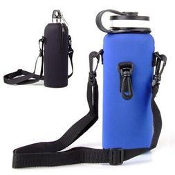 Sports Drink Water Bottle Protector Cover Hanging Holder Bag