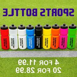 Sports Water Bottles  - BPA FREE PLASTIC BOTTLES - Sports Cy