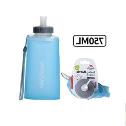 Sports Water Bottles Cup Portable Silicone Folding Drinkware