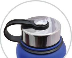 MIRA Stainless Lid for Wide Mouth Water Bottles | Compatible