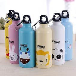 Stainless Steel Baby Kid Children School Drinking Water Bott