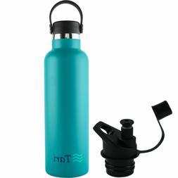 TARI Stainless Steel Bottle Wide Mouth Leakproof Flex Cap In