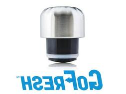 Stainless Steel Water Bottle Lid, Cap 9 oz & 17oz GoFresh Sw