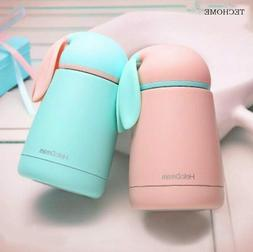 Stainless Steel Thermos 10 Oz Kids Water Bottle Rabbit Shape