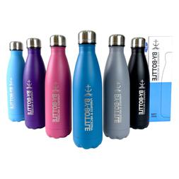 Stainless Steel Vacuum 17Oz 500ml Sports Water Bottles Doubl