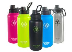 Smart Flask Stainless Steel Water Bottle Vacuum Insulated 32