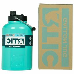 RTIC Insulated Water Jug / Bottle, 1 Gallon Teal, Stays Cold