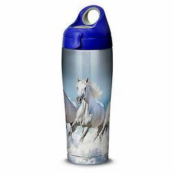 Tervis Tumbler Tervis White Horses Stainless Steel Water Bot