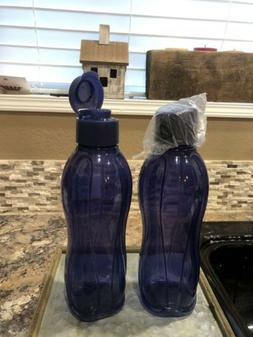 Tupperware ECO WATER BOTTLE - Large  - Set of 2 - NEW
