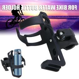 US MTB Bike Bottle Holder Rack Adjustable Durable Bicycle Wa
