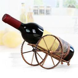 Vintage Wine Bottle Holder Rack Wine Bottle Metal Display Ra