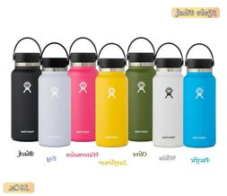 Hydro Flask Water Bottle 32oz. With Straw lid Stainless Stee