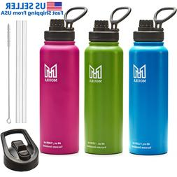 water bottle 40 oz stainless steel insulated