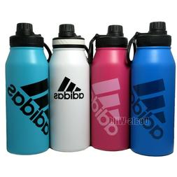 Adidas Water Bottle BPA Free Double Wall Stainless Steel 33.
