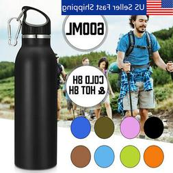 Water Bottle Stainless Steel Vacuum Outdoor Sport Insulated