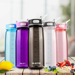 Water Bottle With Straw For GYM Boys Girls KIDS Bottles Ther