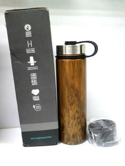 Simple Modern Water Flask Summit Hydro Bottle with Lid WOOD
