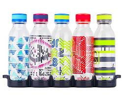 WaterWeek Reusable Water Bottles With Bonus Fridge Tray BPA-