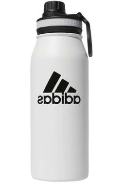 white stainless steel water bottle 20 oz