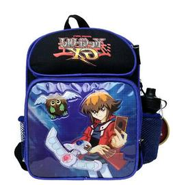 Yu-Gi-Oh Blue/Black Kids Backpack & School Bag for Boys with