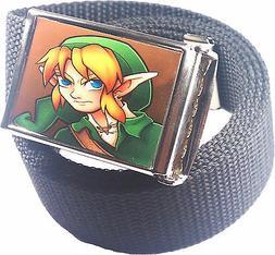 Zelda Link Belt Buckle Bottle Opener Adjustable Web Belt